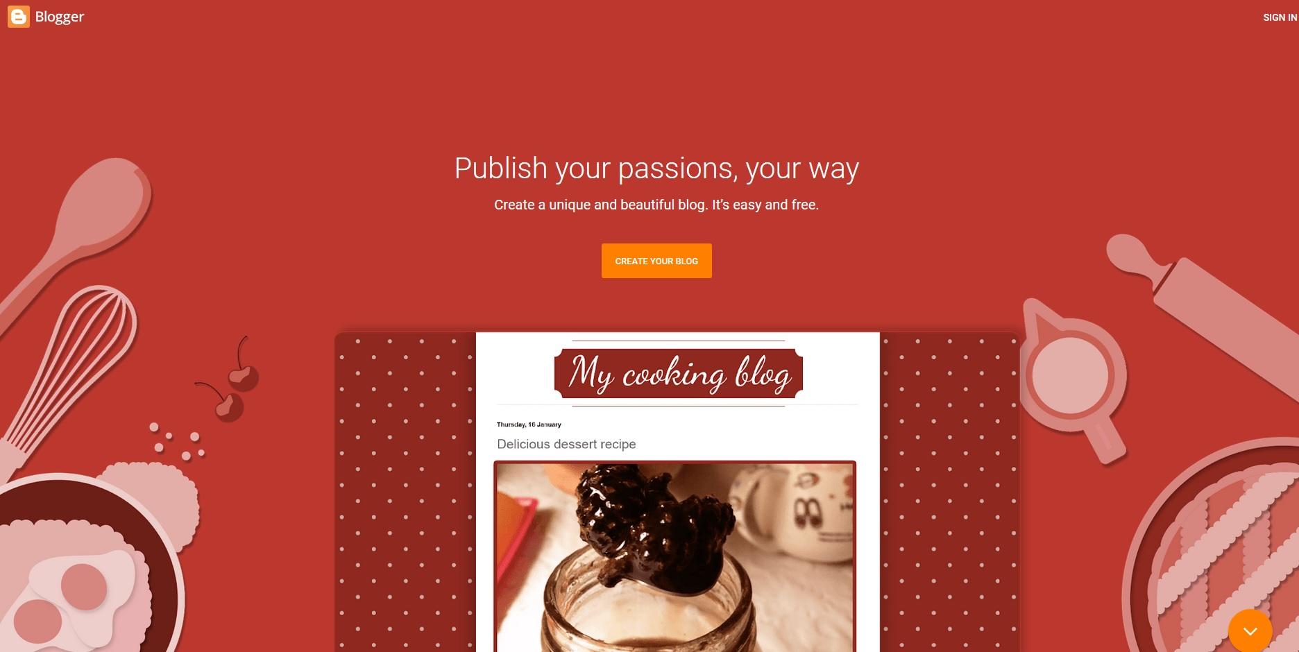 Създаване на нов блог в платформата на Google - Blogger