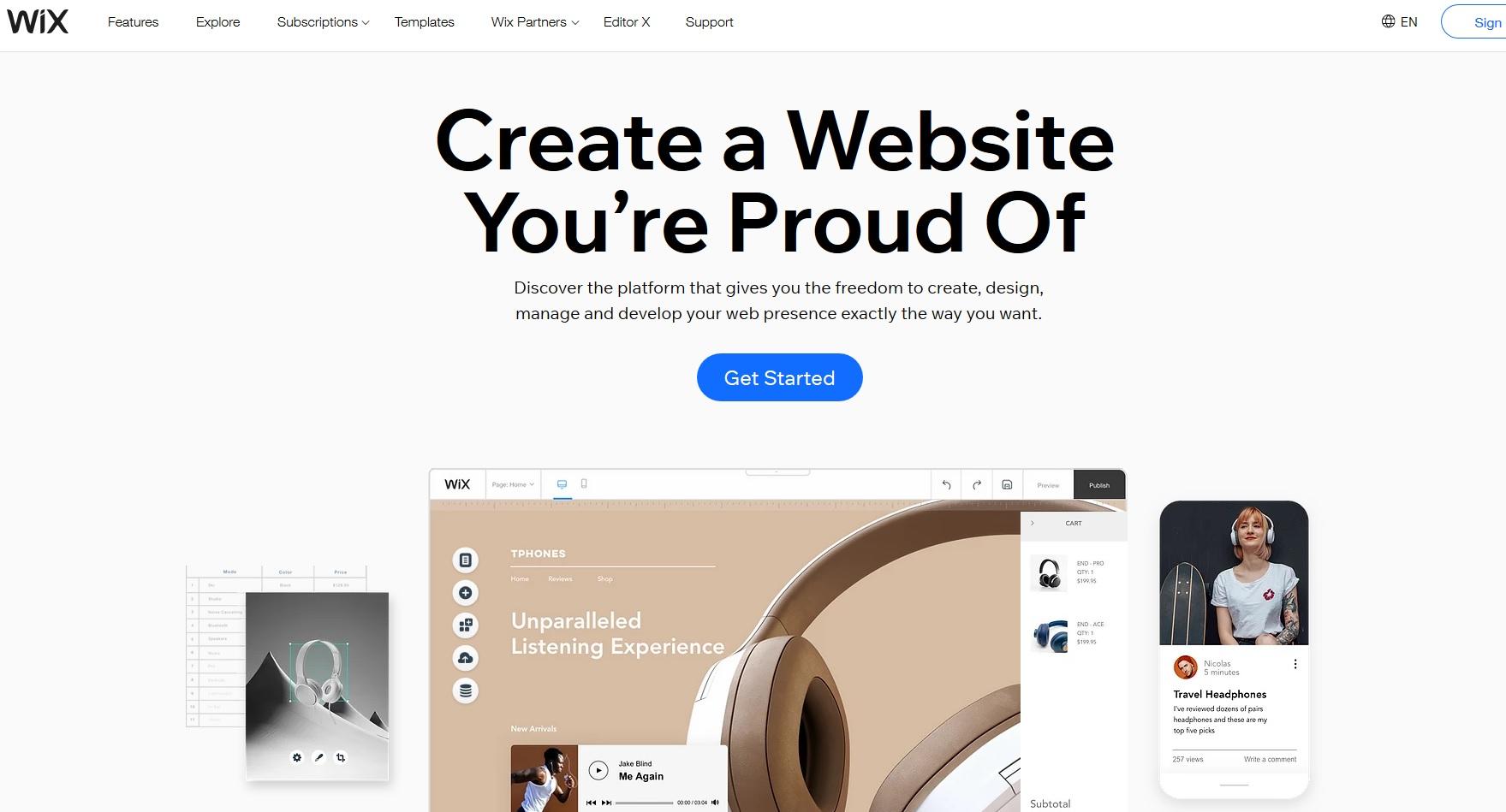 Създаване на блог в платформата Wix.com